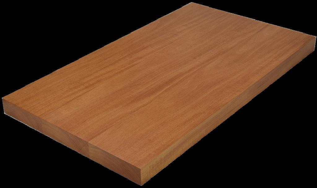 Genuine Mahogany Wide Plank (Face Grain) Countertop
