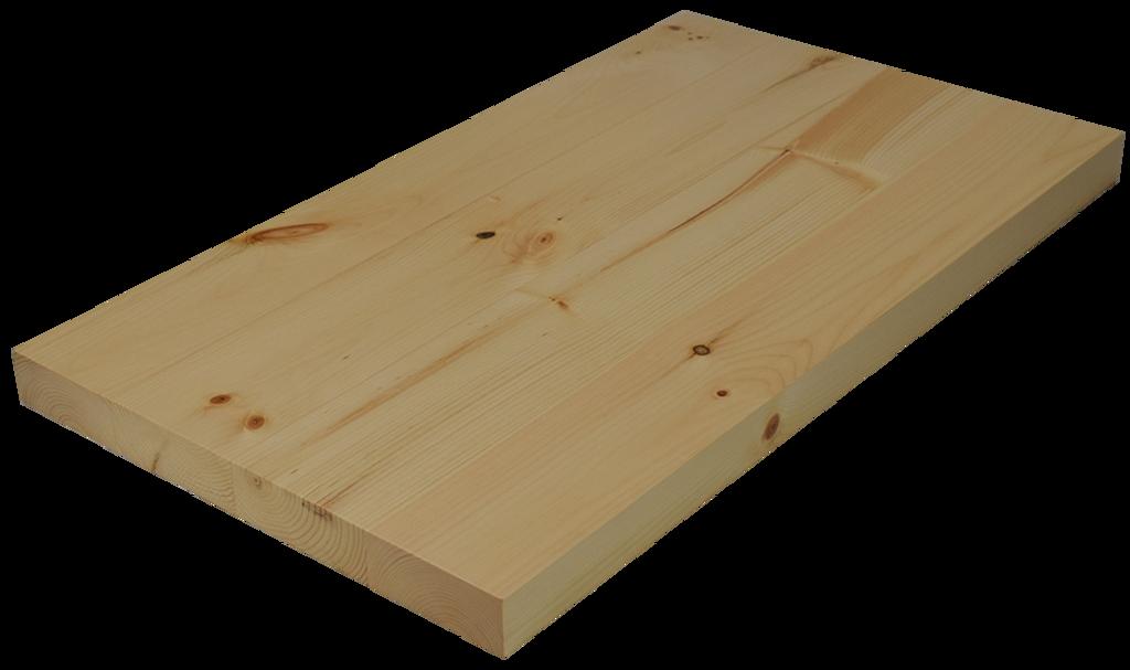 Ordinaire Knotty Pine Wide Plank (Face Grain) Countertop