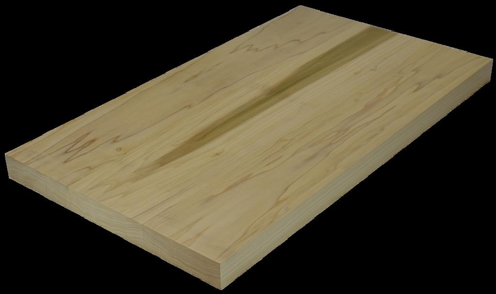 Poplar Wide Plank (Face Grain) Countertop