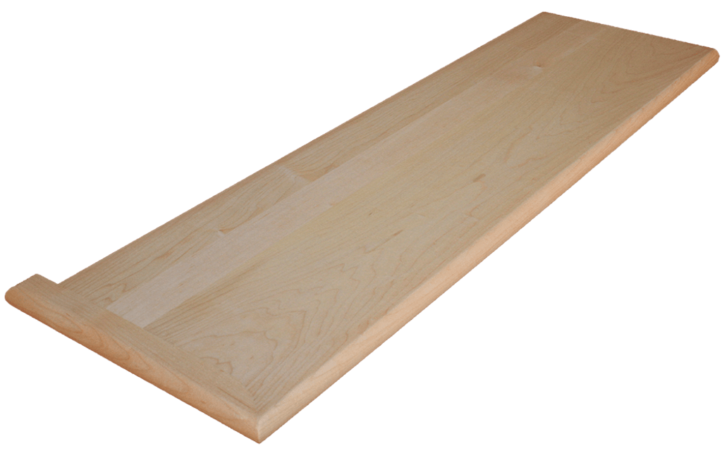 Hard Maple Stair Tread
