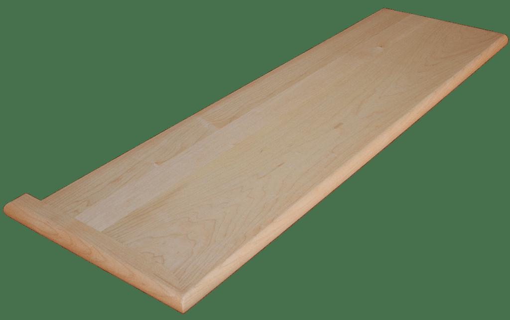 Marvelous Hard Maple Stair Tread