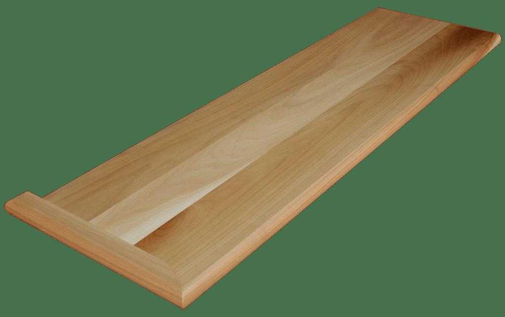 Nice Clear Poplar Stair Tread