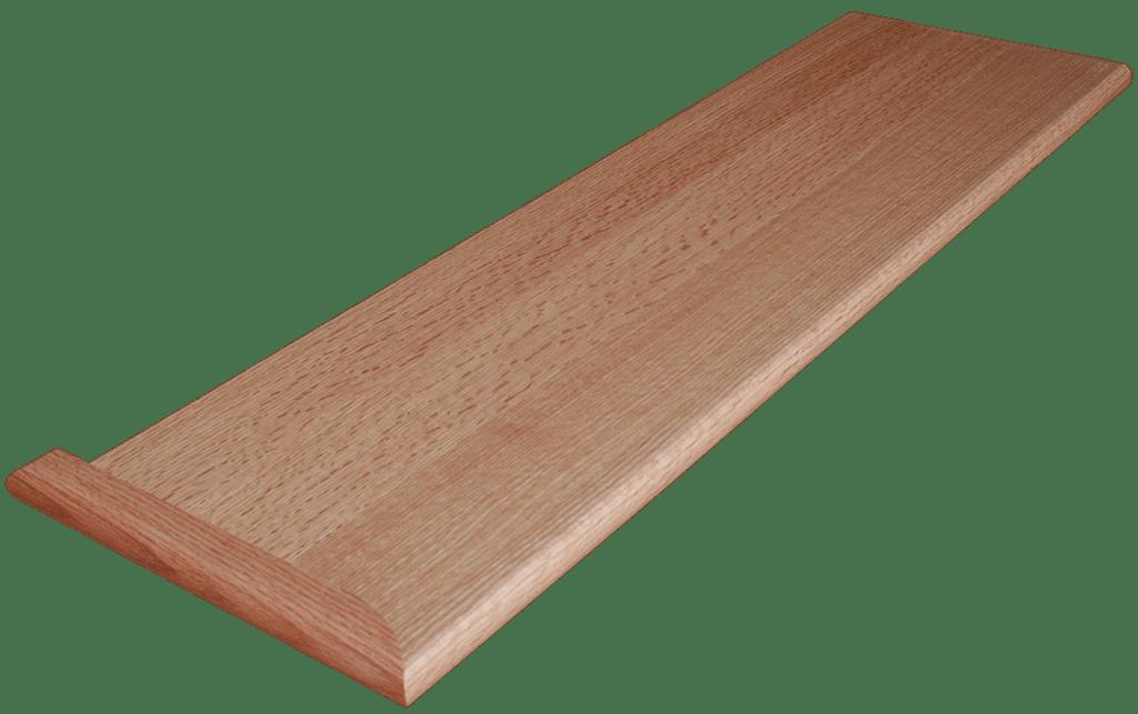 Quarter Sawn Red Oak Stair Tread