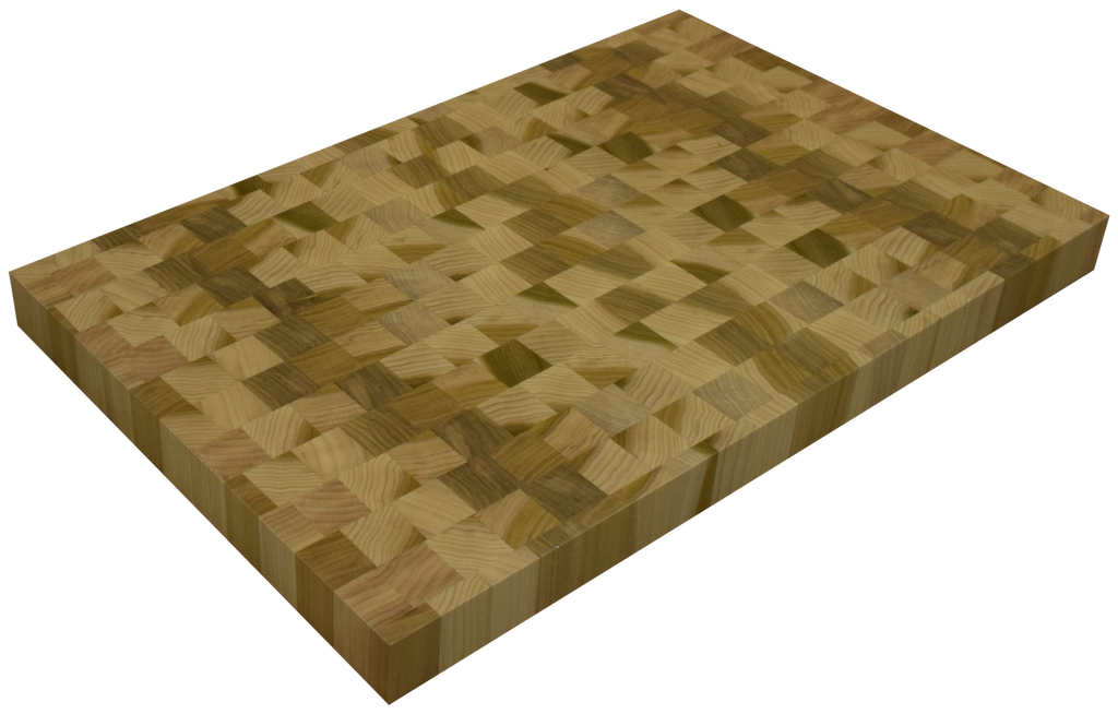 Poplar End Grain Butcher Block Countertop