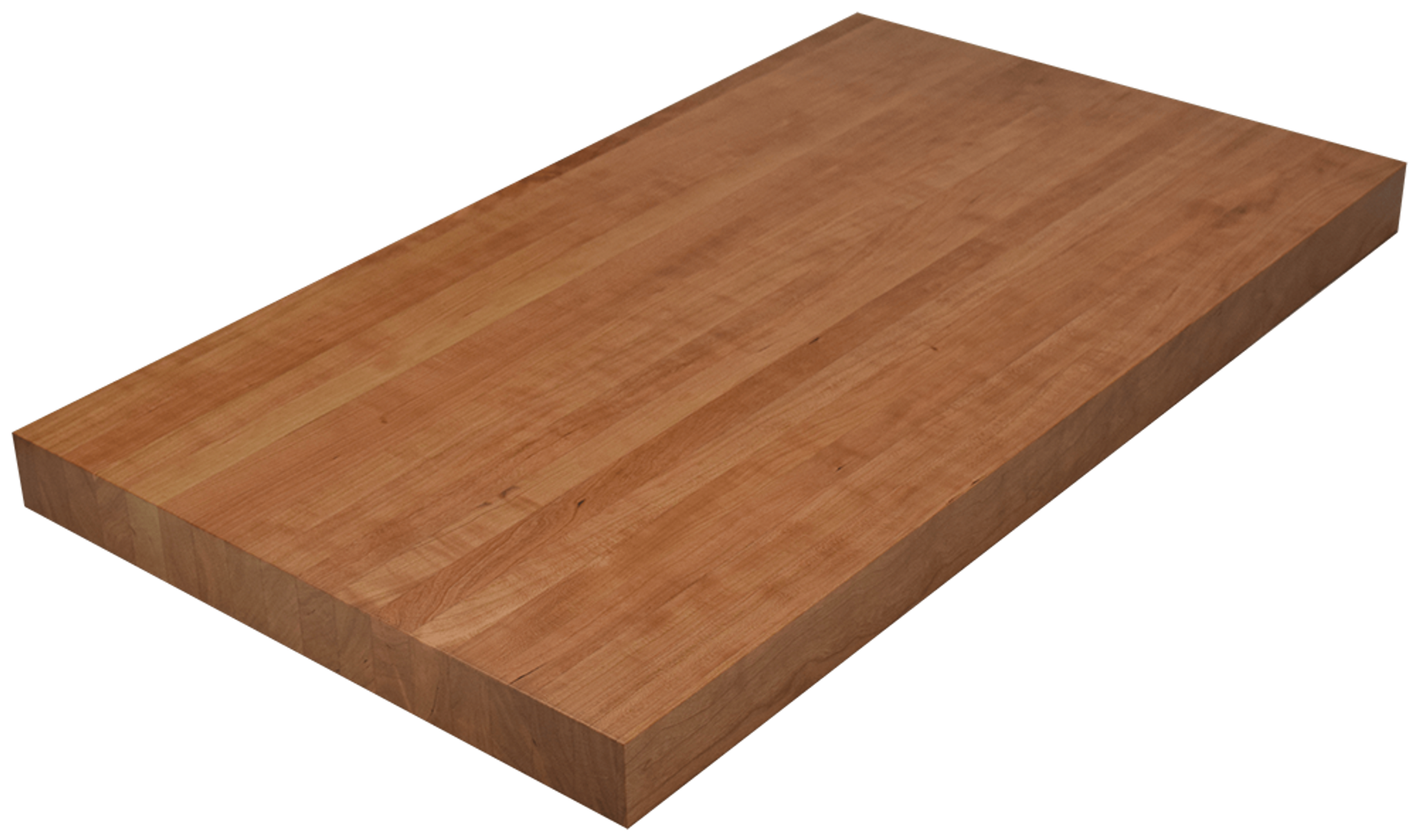 clear cherry edge grain butcher block countertop hardwood lumber company. Black Bedroom Furniture Sets. Home Design Ideas
