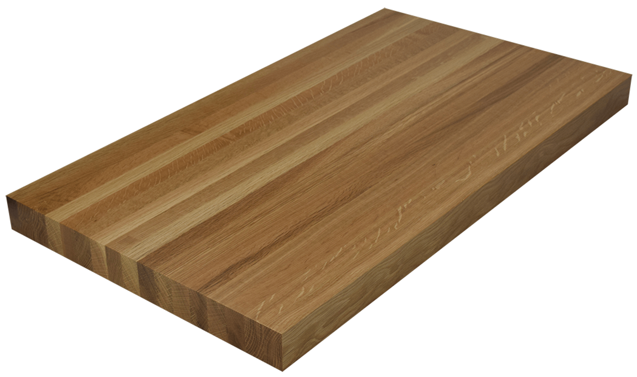 Attirant White Oak Edge Grain Butcher Block Countertop