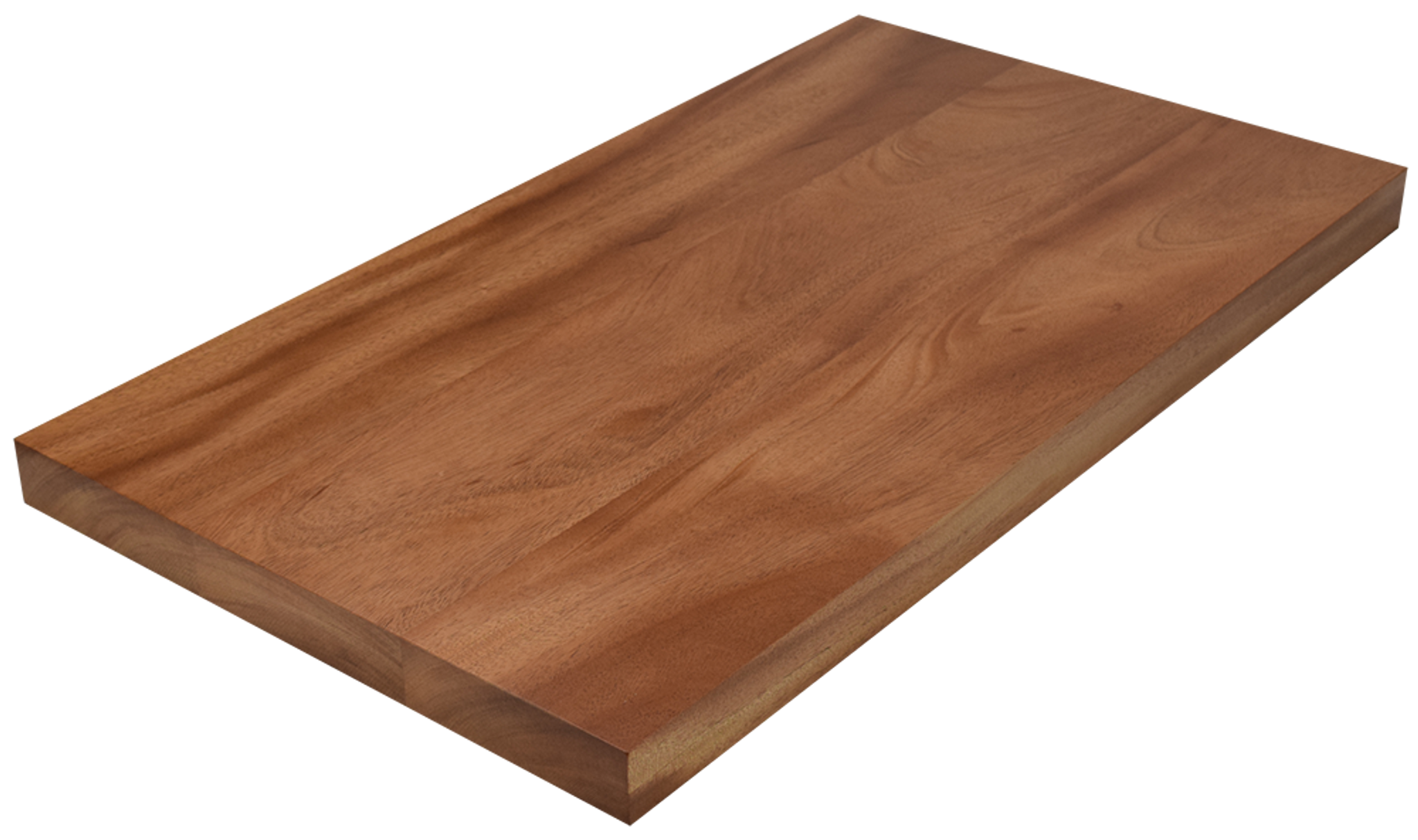 African mahogany wide plank face grain countertop for Plank blocks