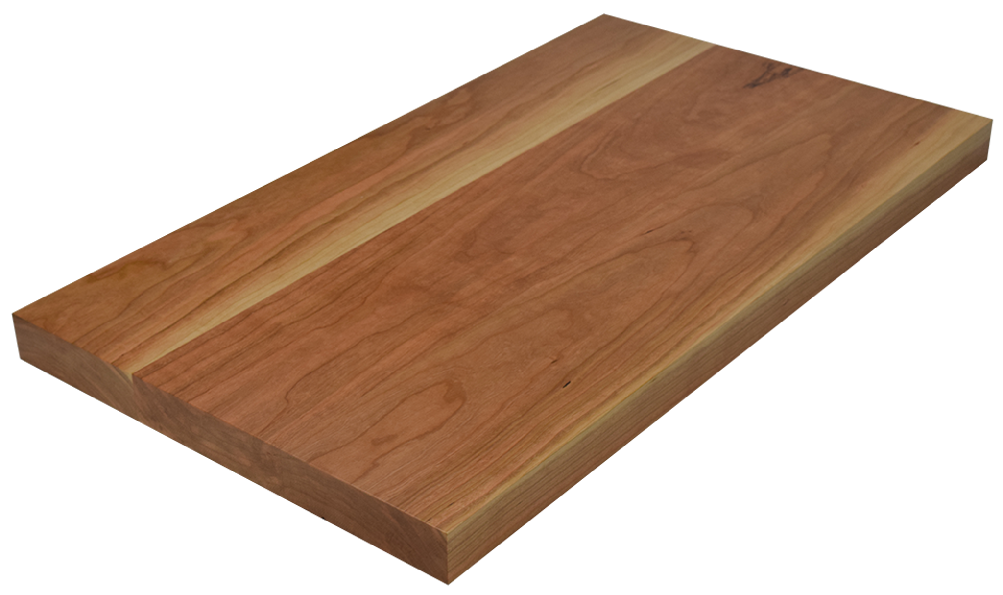 Character cherry wide plank face grain countertop for Plank blocks