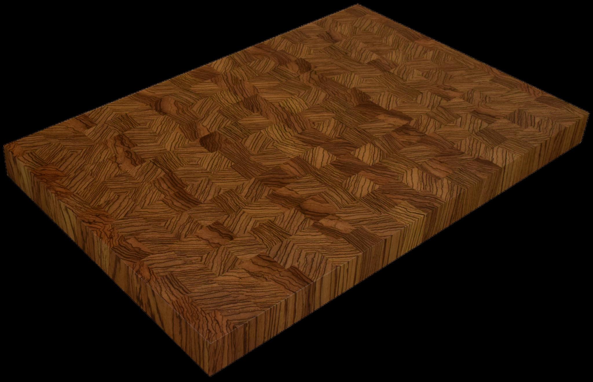 zebrawood end grain butcher block countertop hardwood lumber company. Black Bedroom Furniture Sets. Home Design Ideas