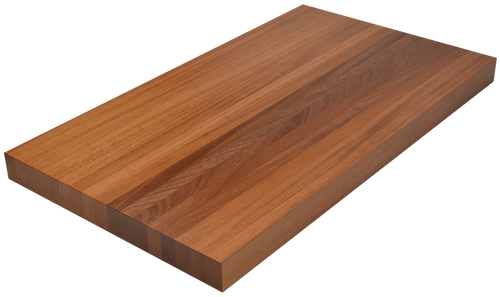 African Mahogany Edge Grain Butcher Block Countertop