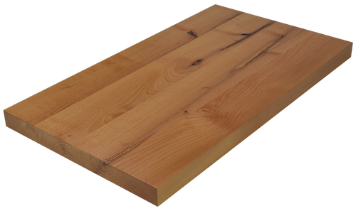 Knotty Alder Wide Plank (Face Grain) Countertop