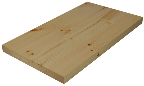 Knotty Pine Wide Plank (Face Grain) Countertop