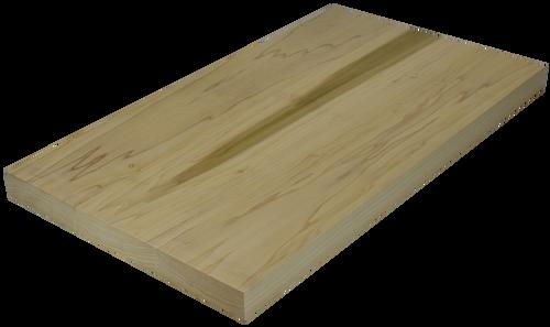 poplar wide plank face grain countertop hardwood lumber company. Black Bedroom Furniture Sets. Home Design Ideas