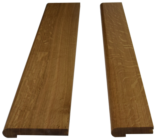 Quarter Sawn White Oak Landing Tread