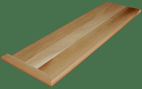Clear Poplar Stair Tread