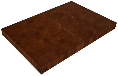 African Mahogany End Grain Butcher Block Countertop
