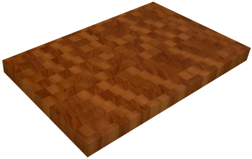 Genuine Mahogany End Grain Butcher Block Countertop