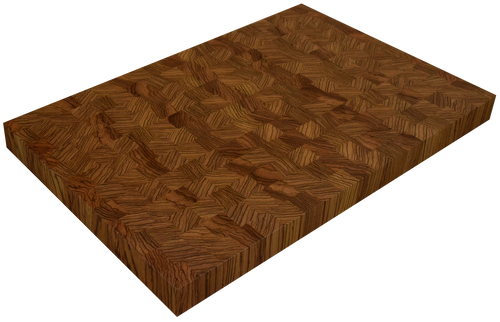 Zebrawood End Grain Butcher Block Countertop