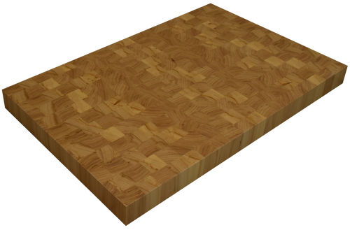 Grey Elm End Grain Butcher Block Countertop