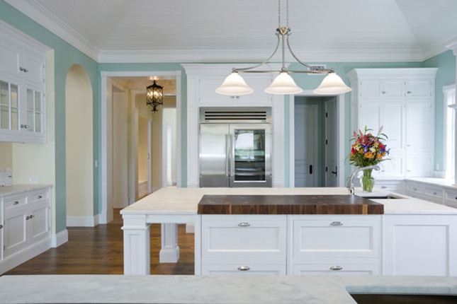 Distressed and Rustic Wood Countertops
