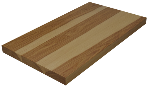 hickory wide plank face grain countertop hardwood lumber company. Black Bedroom Furniture Sets. Home Design Ideas
