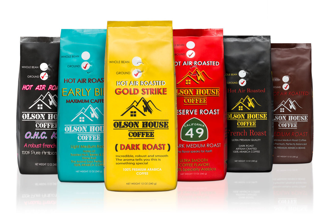 Free Ship 4 Pack Of Coffee Bean Types 12oz Bags Whole