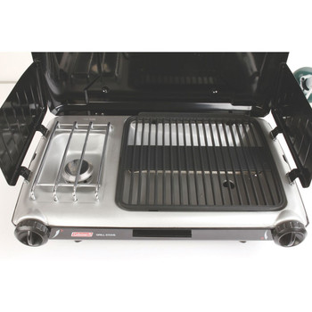 Coleman Grill 2 Burner Grill Stove Combo Black 2000020929