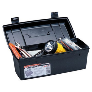 Flambeau 6587FH Flambeau Hardware 14in Brute Tool Box With Lift-Out Tray-Blk