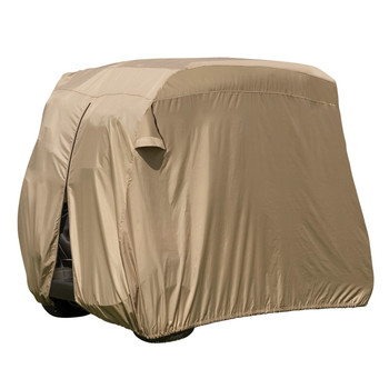 Classic Accessories 74442 Classic Fairway Golf Cart Easy-On-Cover - Sand