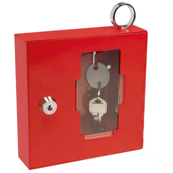 Barska AX11826 Barska Breakable Emergency Key Box W/Attached Hammer A Style