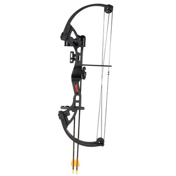 Bear Archery AYS300BR Bear Archery Brave Black RH Bow Set AYS300BR