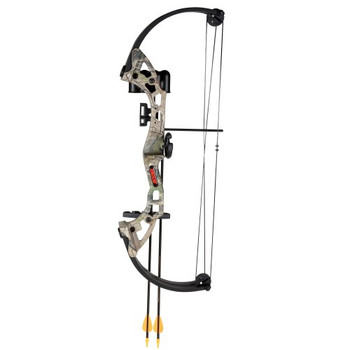Bear Archery AYS300CR Bear Archery Brave Camo RH Bow Set AYS300CR