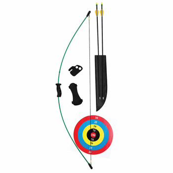 "Bear Archery AYS6300 Bear Archery Wizard Bow Set 10/18# 17/24"" AYS6300"