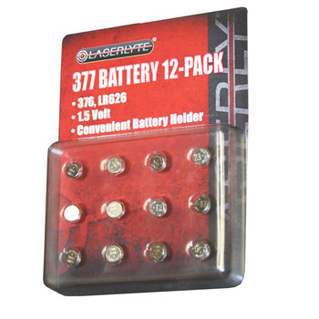 Laserlyte BAT-377 Laserlyte 377 Batteries 12 pack BAT-377