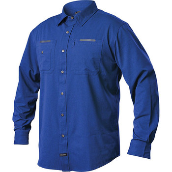 Blackhawk BH-TS03AB2XL Blackhawk Tac Flow Long Sleeve Shirt Admiral Blue 2XL