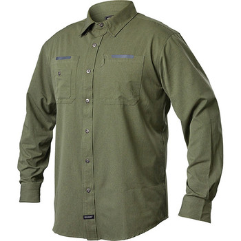 Blackhawk BH-TS03JGSM Blackhawk Tac Flow Long Sleeve Shirt Jungle Small