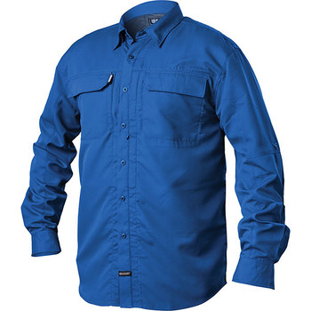 Blackhawk BH-TS04ABSM Blackhawk Tac Convertible Long Sleeve Shirt Admiral Blue Sm