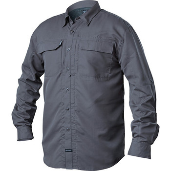 Blackhawk BH-TS04SLLG Blackhawk Tac Convertible Long Sleeve Shirt Slate Large