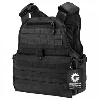 Barska VX-500 Plate Carrier Tactical Vest Black | Barska BI12260