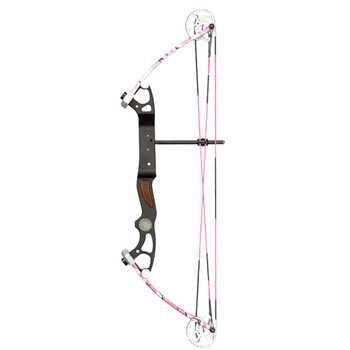 Alpine Archery BO-48131 Alpine Rookie Bow 10-35lb 17-23in Pink Camo RH BO-48131
