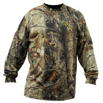 ScentBlocker CLTXT2XL ScentBlocker Mens Long Sleeve T-Shirt Realtree Xtra - 2XL