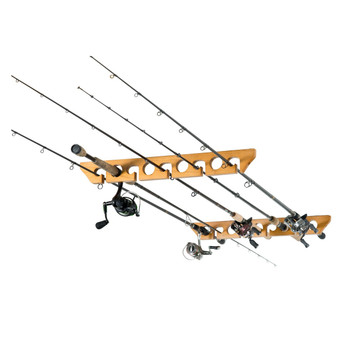 Organized Fishing CPR-009 Organized Fishing 9 Cpcty Ceiling Horizontal Rod Rack