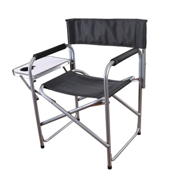 Stansport G-409 Stansport Folding Directors Chair with Side Table
