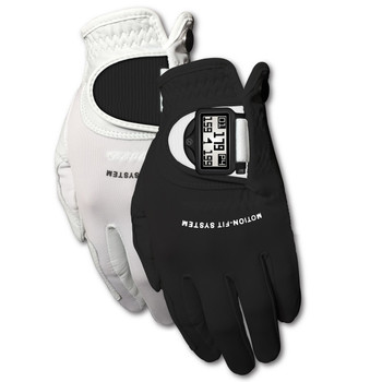Zero Friction GL22011 Zero Friction Mens Motion Fit GPS Golf Glove Pair RH