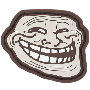 Maxpedition MXTRLFA Maxpedition Troll Face Patch Arid