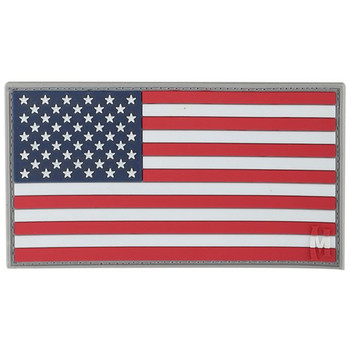 Maxpedition MXUSA2C Maxpedition USA Flag Patch Large Full Color 3.25 x 1.75