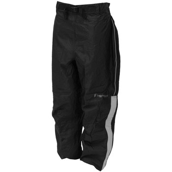 Frogg Toggs NTH85105-01MD Frogg Toggs Highway Pant Black w/ Reflective Silver Medium
