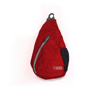 Osage River ORTSRG Osage River Taber Sling Bag - Red/Gray