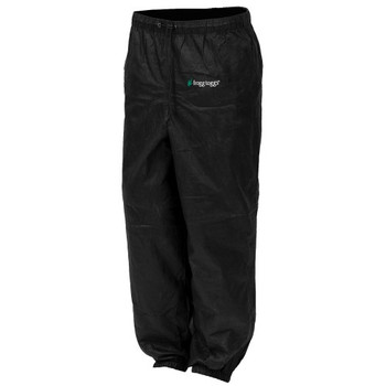 Frogg Toggs PA83522-01XX Frogg Toggs Pro Action Pant Ladies Black XXL PA83522-01XX