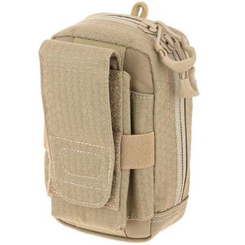 """Maxpedition PUPTAN Maxpedition PUP Phone Utility Pouch Tan 3.5""""Lx3""""Wx6""""H"""